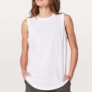Lululemon Brunswick Muscle Tank *Expression
